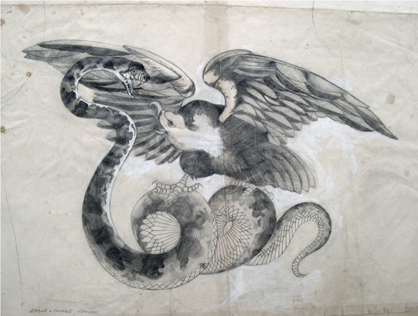 Classical Tattoo subjects of wild animals - Eagles, Snakes, Panthers,