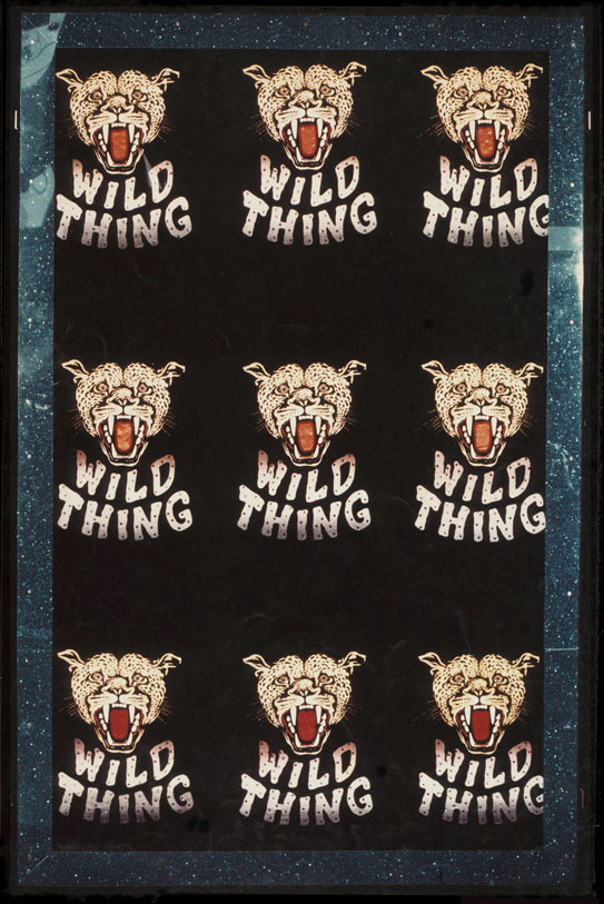 WILD THING - 1971 'The Fabric of Pop' Exhibition